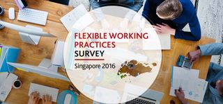 [Infographic] Flexible Working Hours Survey in Singapore 2016